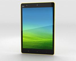 Xiaomi Mi Pad 7.9 inch Yellow 3D model