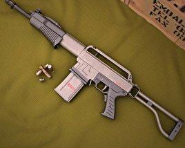 Franchi SPAS-15 3D model