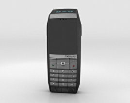 TAG Heuer Meridiist GMT PVD Black Alligator 3D model
