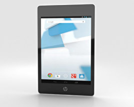 HP Slate 8 Pro White 3D model
