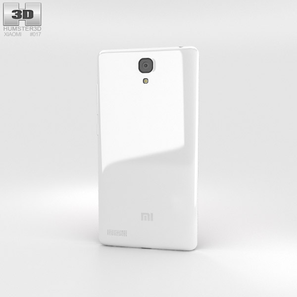 Xiaomi Redmi Note White 3d model