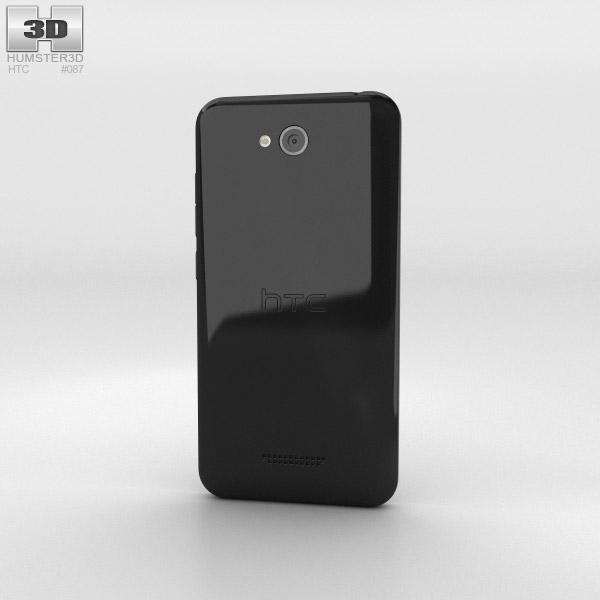 HTC Desire 616 Black 3d model
