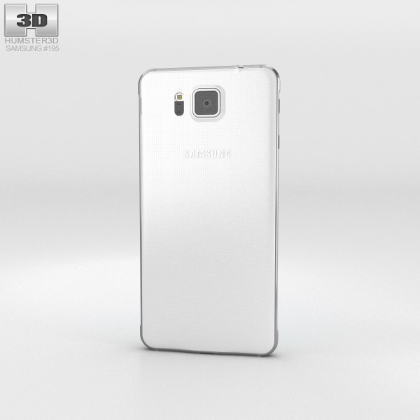 Samsung Galaxy Alpha Dazzling White 3d model