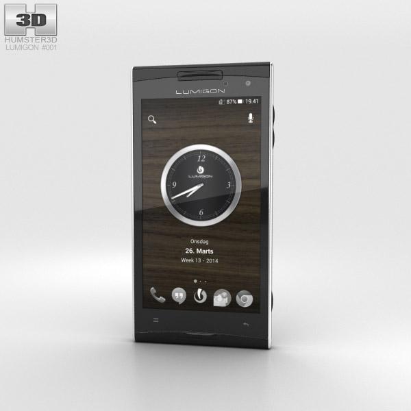 Lumigon T2 HD Black 3d model
