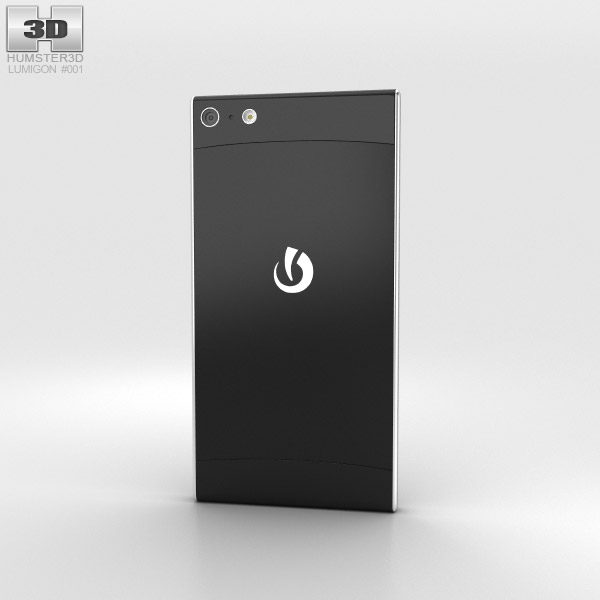 Lumigon T2 HD Black 3d model