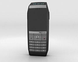 TAG Heuer Meridiist GMT PVD Black Rubber 3D model