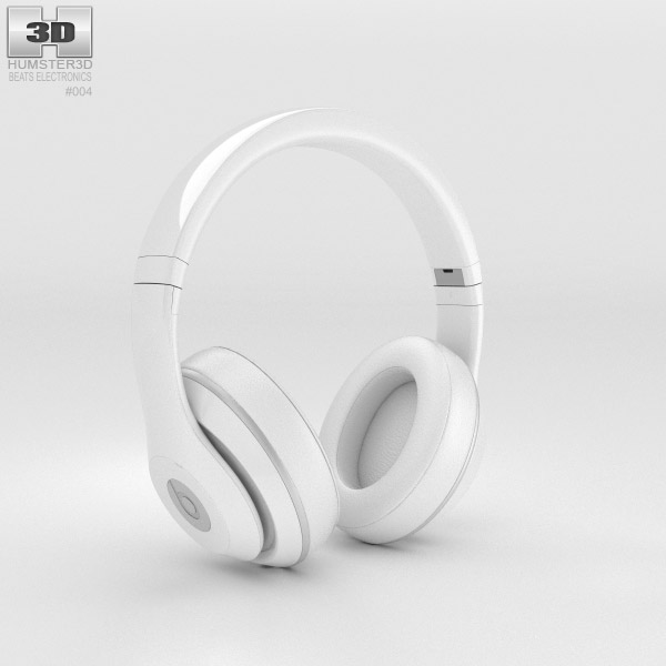 Beats by Dr. Dre Studio Over-Ear Headphones Snarkitecture 3d model