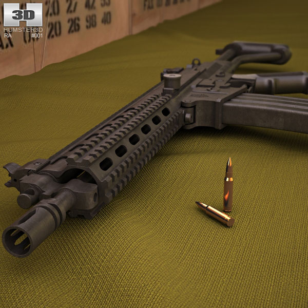 Robinson Armaments XCR-L 3d model