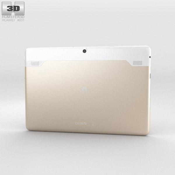 Huawei MediaPad 10 Link+ Champagne 3d model