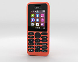 Nokia 130 Red 3D model