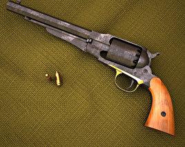 Remington Model 1858 3D model