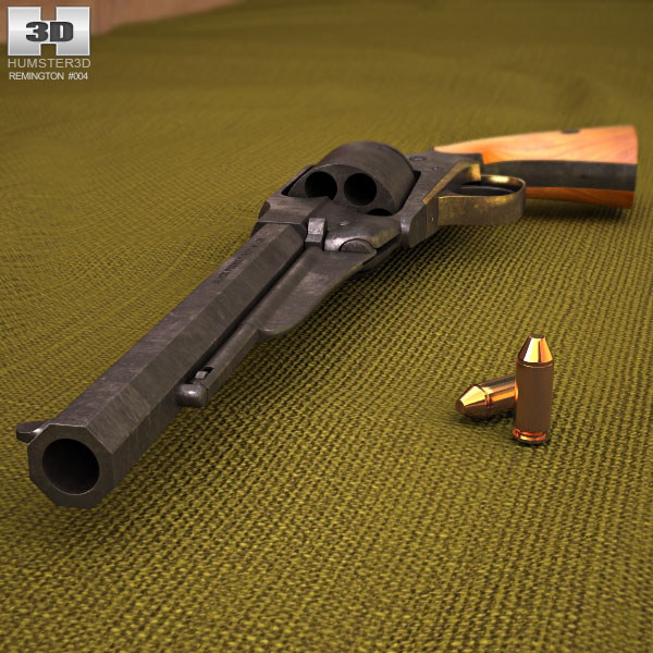Remington Model 1858 3d model