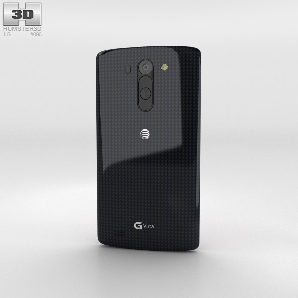 LG G Vista Metallic Black 3d model
