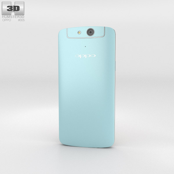 Oppo N1 mini Light Blue 3d model