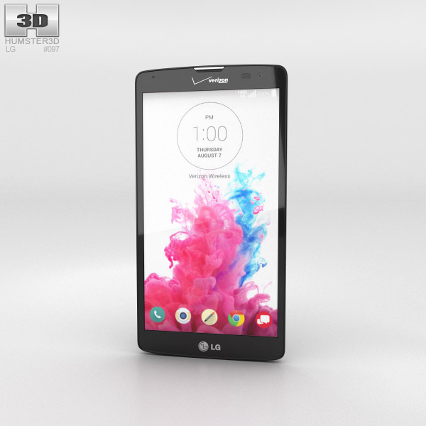 LG G Vista (VS880) Black 3d model