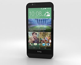 HTC Desire 510 Jet Black 3D model