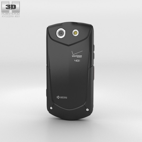 Kyocera Brigadier Black 3d model