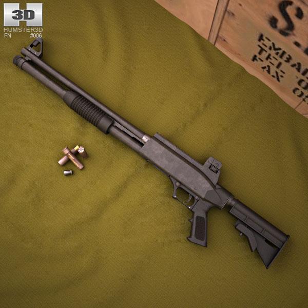 FN TPS 3d model