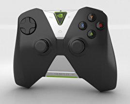 Nvidia Shield Wireless Controller 3D model