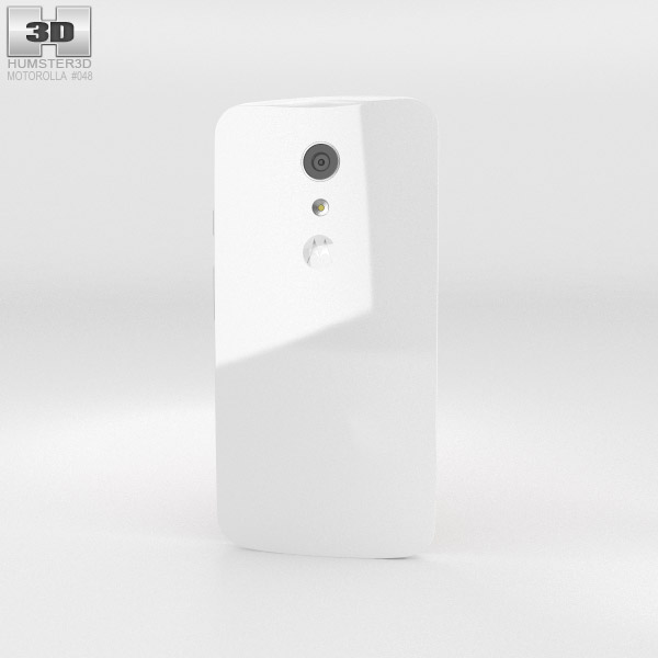 Motorola Moto G (2nd Gen) White 3d model