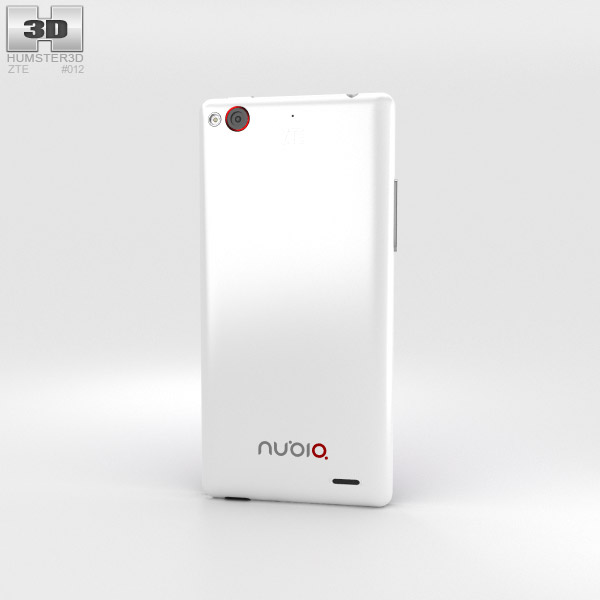 ZTE Nubia Z5S Mini White 3d model