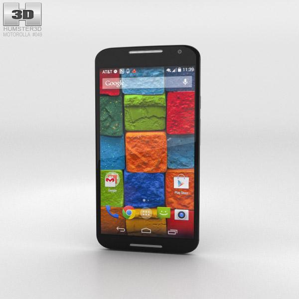 Motorola Moto X (2nd Gen) Black 3d model