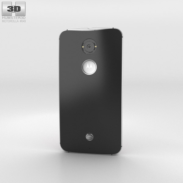 Motorola Moto X (2nd Gen) Black 3d model