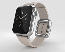 Apple Watch 38mm Stainless Steel Case Pink Modern Buckle 3D model