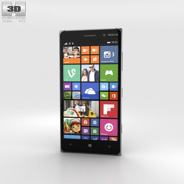 Nokia Lumia 830 Black 3d model