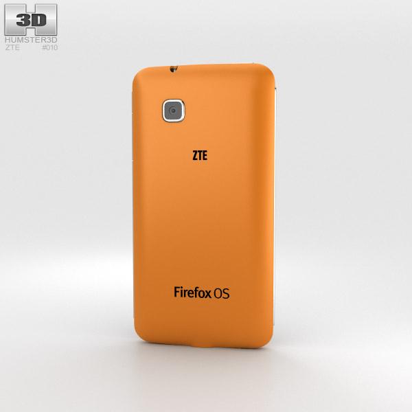 ZTE Open C Orange 3d model