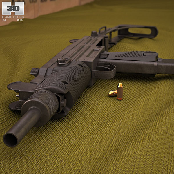 IMI Uzi 3d model