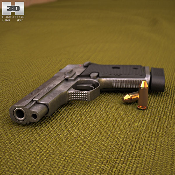 Star Firestar M43 3d model