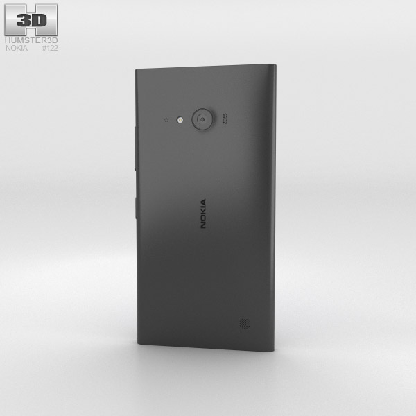 Nokia Lumia 730 Black 3d model