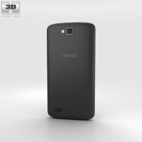 Huawei Honor 3C Play Black 3d model