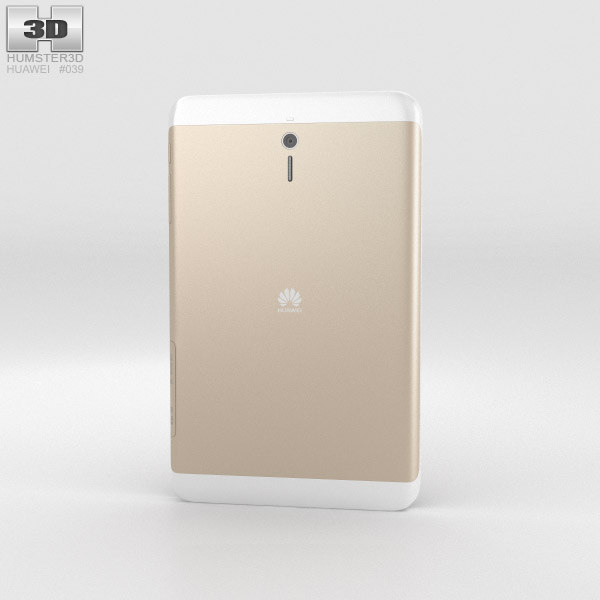 Huawei MediaPad 7 Youth2 Gold 3d model