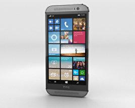 HTC One (M8) Windows Phone Gunmetal Gray 3D model