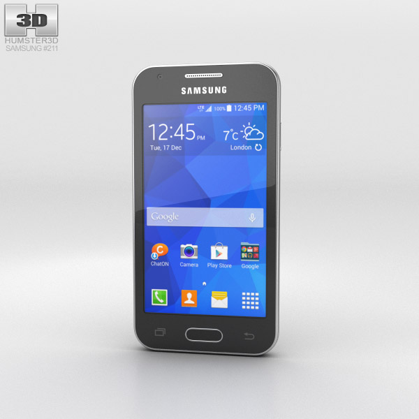 Samsung Galaxy Ace 4 Iris Charcoal 3d model