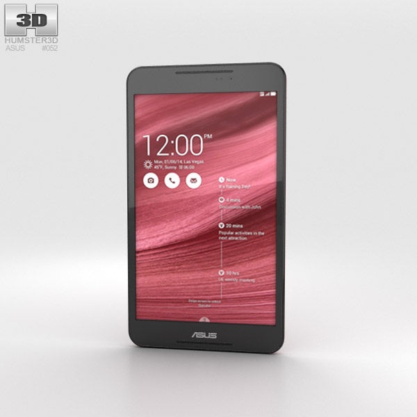 Asus Fonepad 8 (FE380CG) Red 3d model