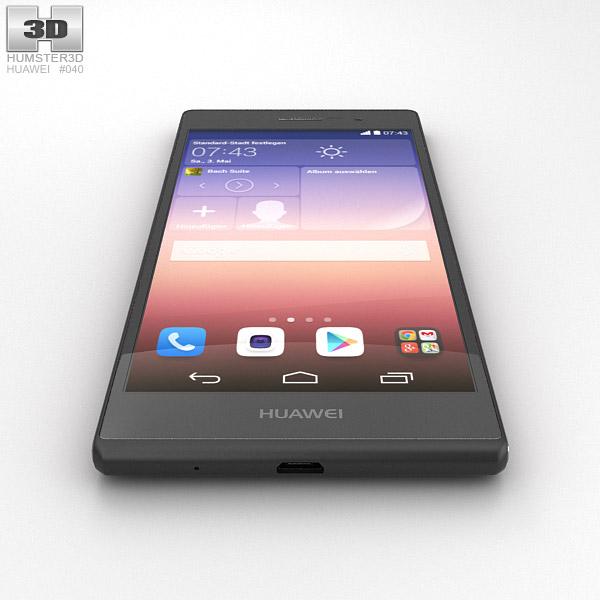 Huawei Ascend P7 Sapphire Edition 3D model