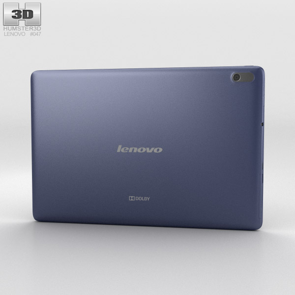 Lenovo A10 Midnight Blue 3d model