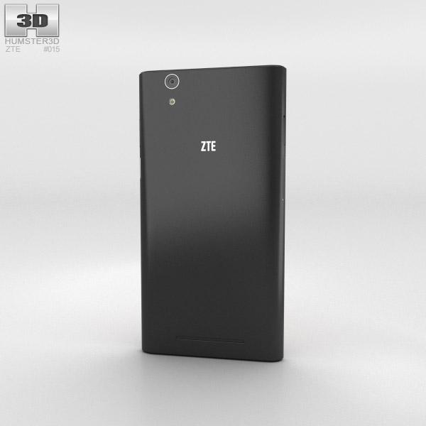 ZTE Zmax Black 3d model
