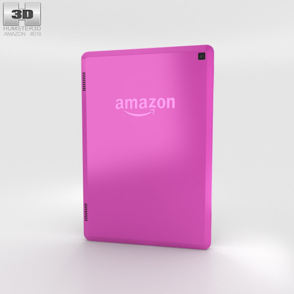 Amazon Fire HD 7 Magenta 3d model