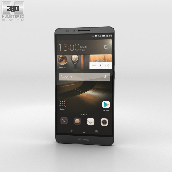 Huawei Ascend Mate 7 Obsidian Black 3d model