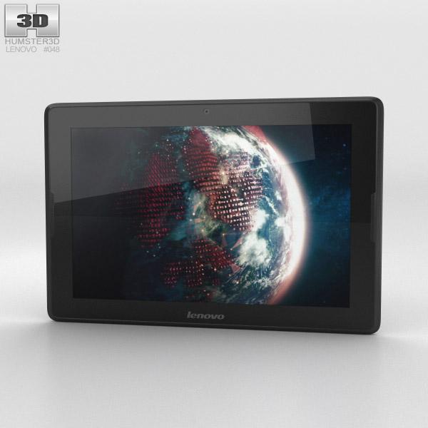 Lenovo A10 Black 3d model