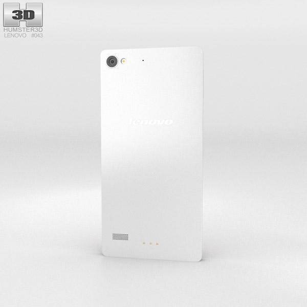Lenovo Vibe X2 White 3d model