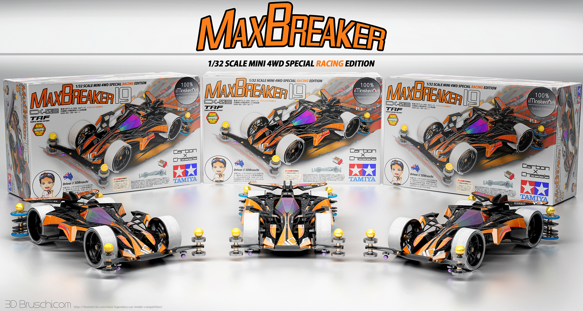 Mini 4WD Max Breaker Edition