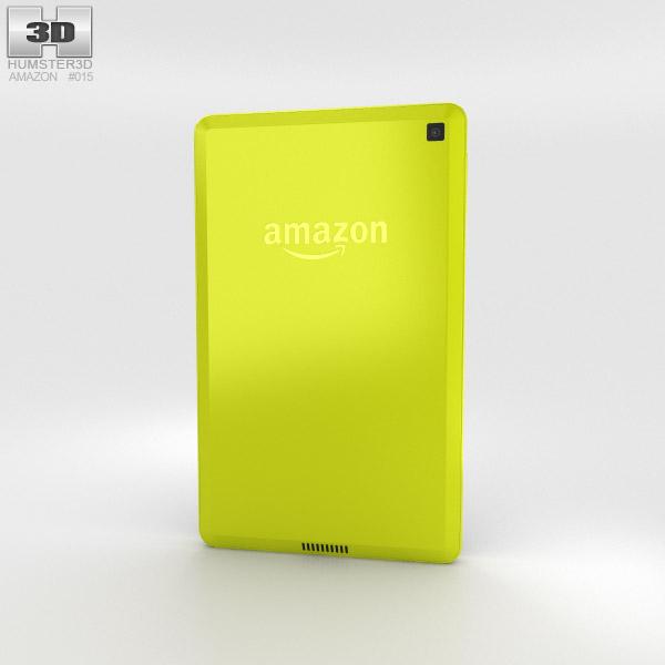 Amazon Fire HD 6 Citron 3d model