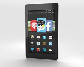 Amazon Fire HD 6 White 3D model
