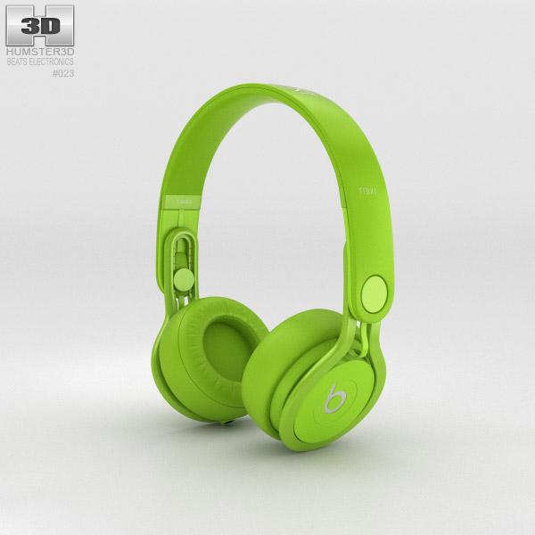 Beats Mixr High-Performance Professional Green 3d model