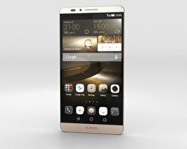 Huawei Ascend Mate 7 Amber Gold 3D model